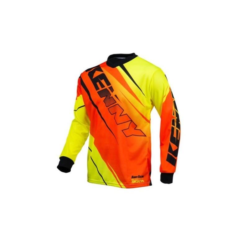 Kenny Tricou Track Orange