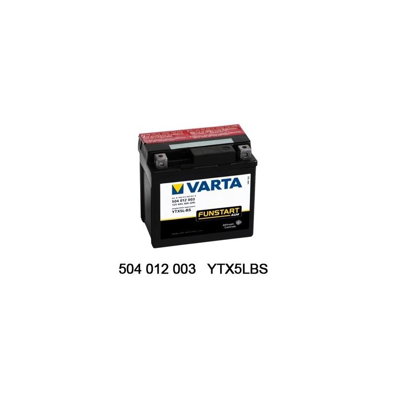 Varta AGM 12V 4Ah YTX5L /...