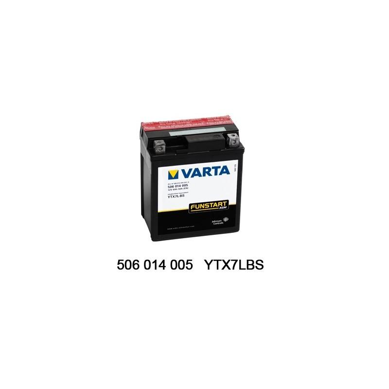 Varta AGM 12V 6Ah YTX7L-4 /...