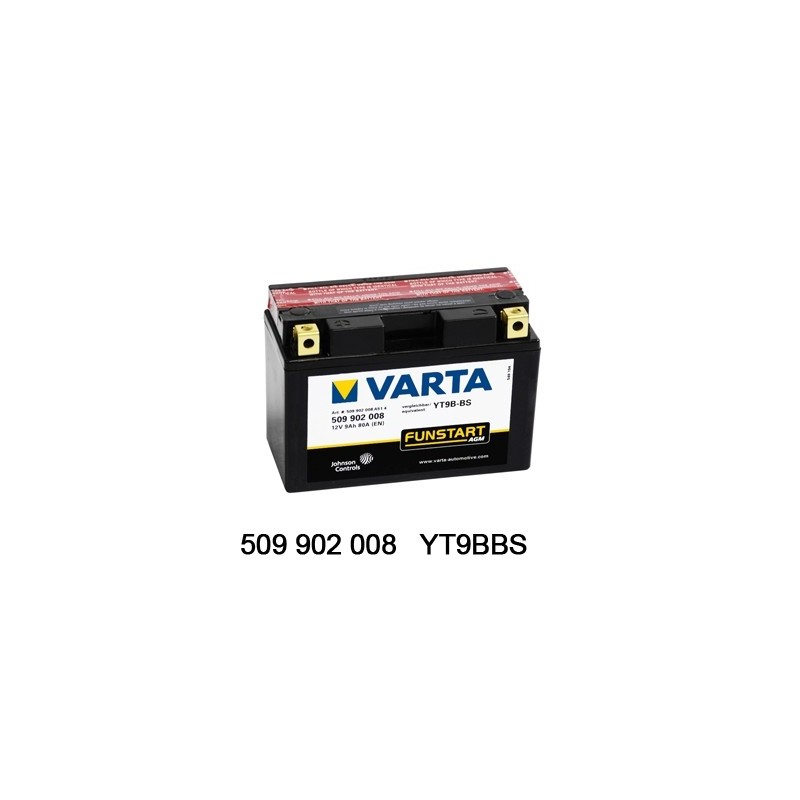 Varta AGM 12V 9Ah YT9B-4 /...