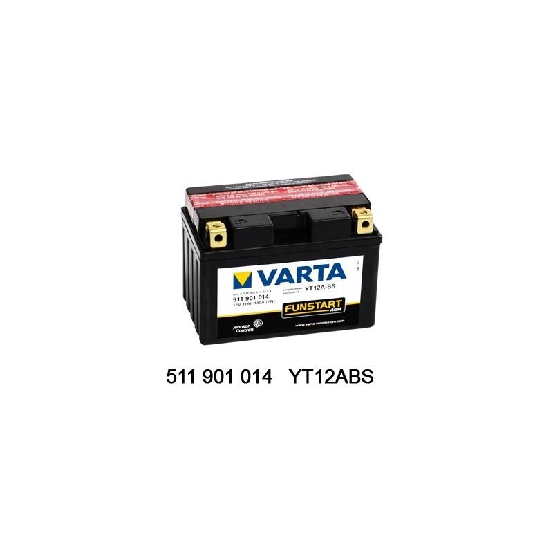 Varta AGM 12V 11Ah YT12A-4...