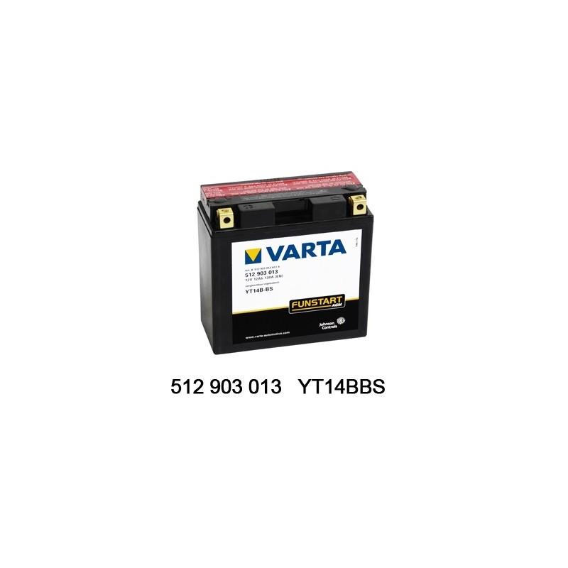 Varta AGM 12V 12Ah YT14B-4...