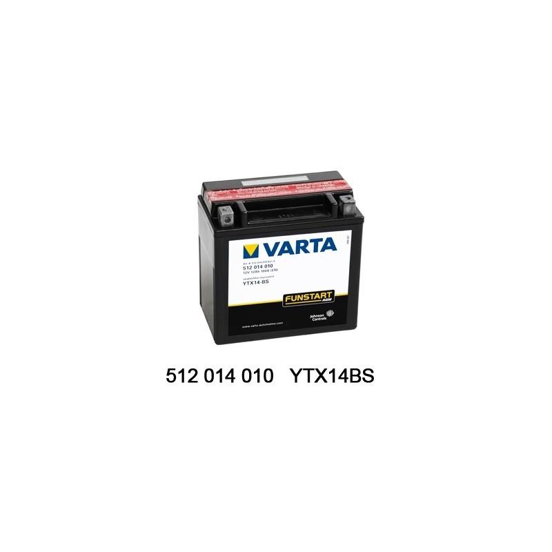 Varta AGM 12V 12Ah YTX14-4...