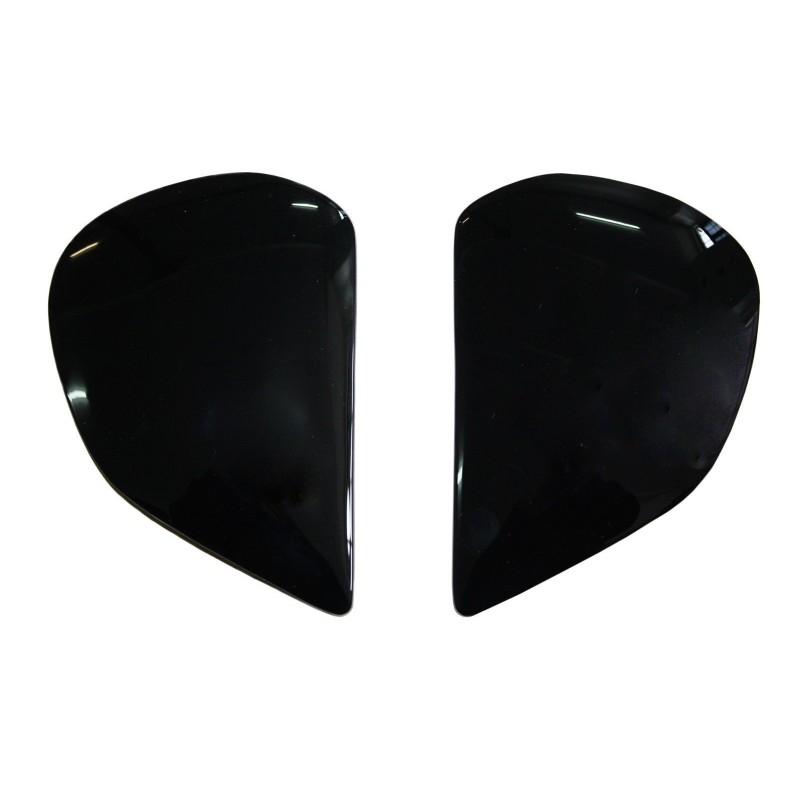 Set capace negre casca Arai