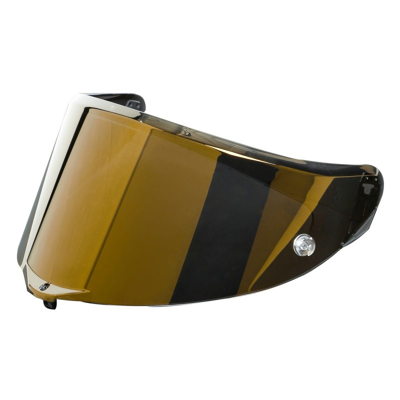 AGV Visor RACE 3 IRIDIUM GOLD