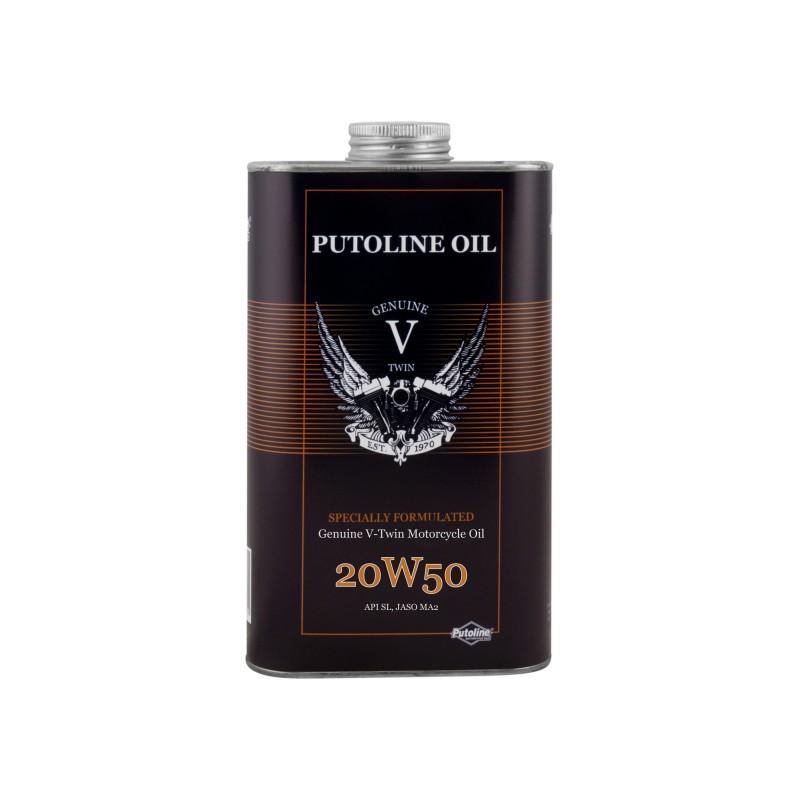 Putoline GENUINE V-TWIN 20W-50