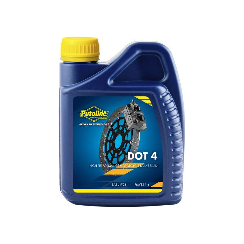 Putoline DOT 4 BRAKE FLUID