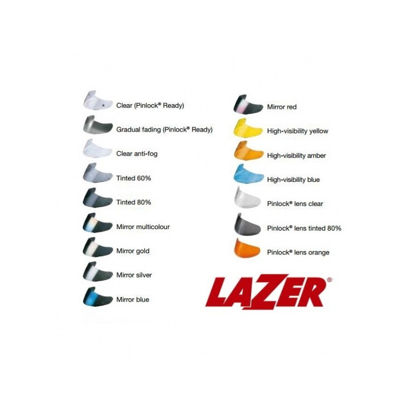 Viziera Lazer Tempo As Tinted